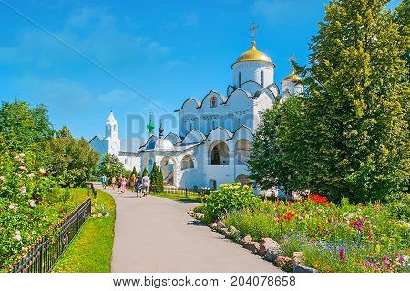 Visit Intercession Monastery In Suzdal