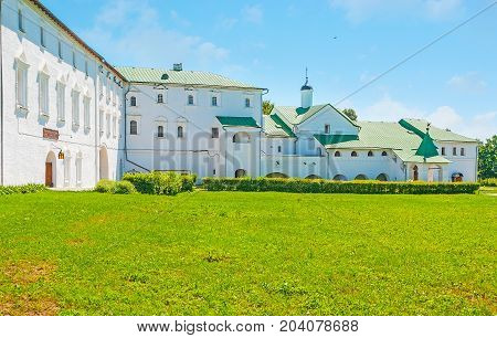 The Buildings Of Suzdal Kremlin