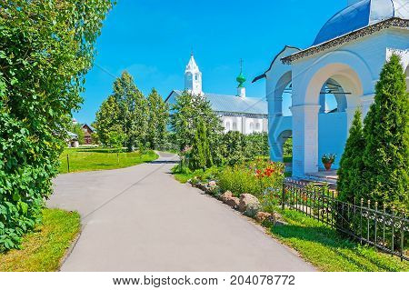 The Garden Of Suzdal Intercession Monastery