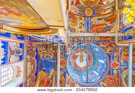 The Dome Of Suzdal Nativity Cathedral