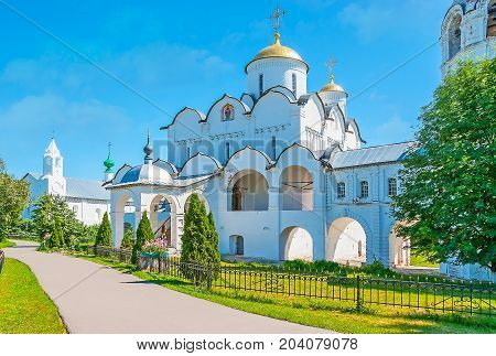 Cathedral Of Suzdal Intercession Monastery