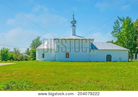 St Nicholas Winter Church In Suzdal
