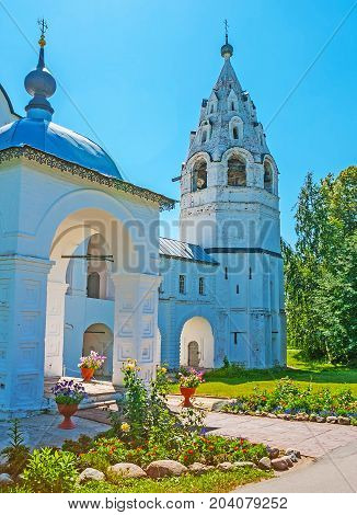 Cathedral's Bell Tower Of Suzdal Intercession Monastery