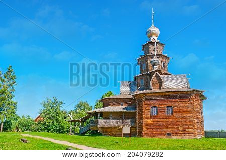 The Wooden Church In Suzdal