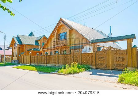 The Modern Wooden Architecture In Suzdal