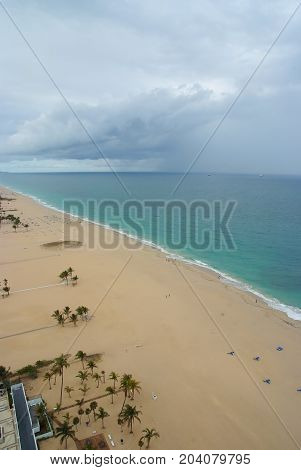 Sea And Beach In Fort Lauderdale, Usa