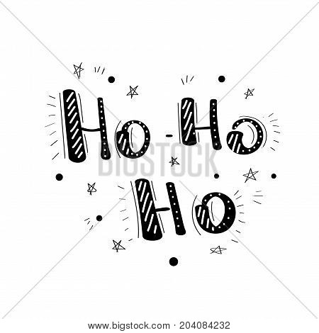 Handwritten Christmas Wishes For Holiday Greeting Cards. Handwritten Lettering. Winter Holiday.