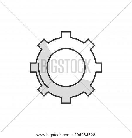line technology web tools symbol icon vector illustration