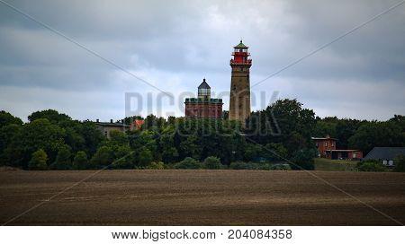 Leuchturm Kap Arkona Rügen Kreidefelsen Ostsee Urlaub