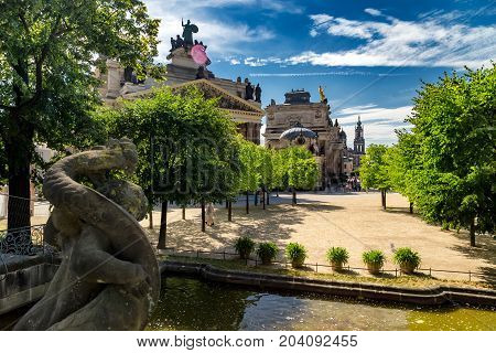 Dresden, Free State Of Saxony. Germany, Europe