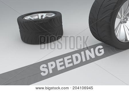 Speeding - Motion Concept