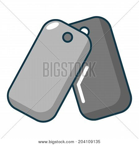 Paintball badge icon. Cartoon illustration of paintball badge vector icon for web