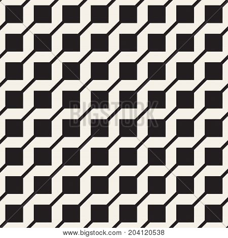 Abstract geometric lines lattice pattern. Seamless vector stylish background.  Subtle repeating texture.