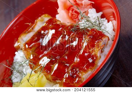 Japanese Food Roast Eel - Unagi