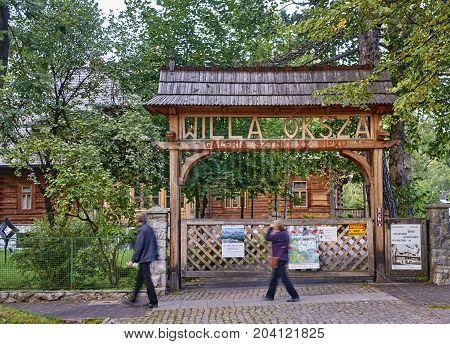 Zakopane, Poland - September 9, 2017: Art Museum Xx Century Will