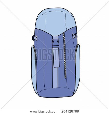 Hiking backpack for travel and mountain climbing