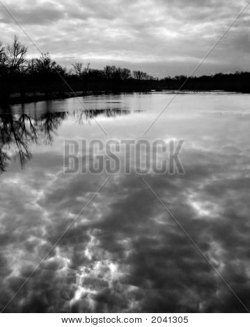 Cloudy Reflection