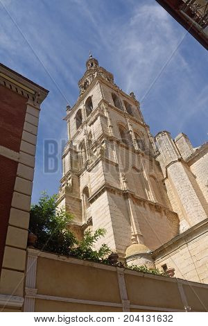 Santa Maria Church Of  Medina De Rioseco, Valladolid Province, Castilla Y Leon, Spain