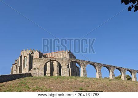 Aqueduct, Vila Do Conde, Douro Region, Northern Portugal