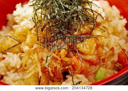 Fried Rice Tyahan With Seafood