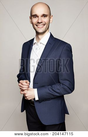 Cheerful Handsome Man