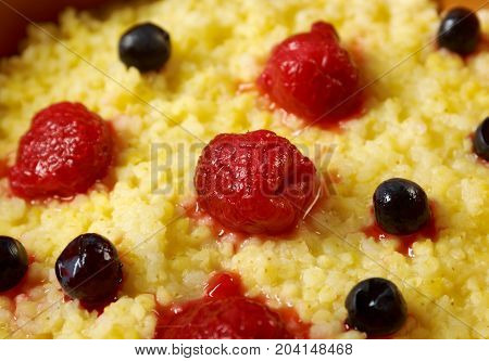 Millet Porridge With Berry