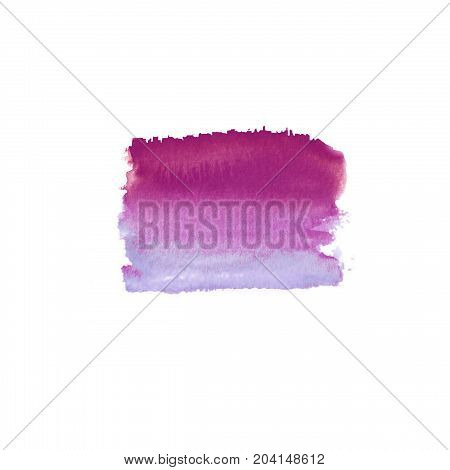 Abstract Magenta Stain