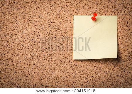 Yellow paper note color white background object