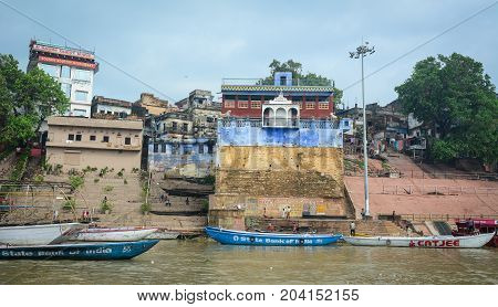 Landscape Of The Ganges Riverbank