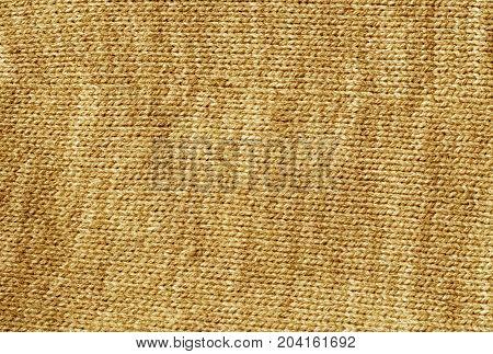 Orange Color Knetted Cloth Surface