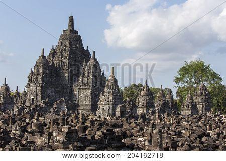 View Of Prambanan Temple