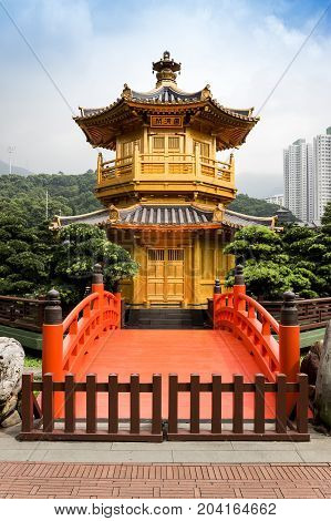 Chi Lin Nunnery Wooden Temple
