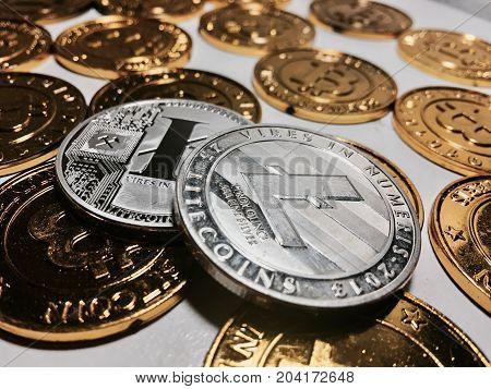 Litecoin Coin Concept