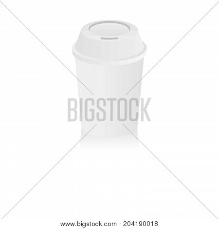 Coffee Cup. Illustration isolated on white background