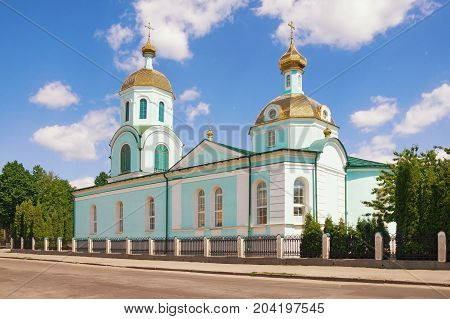 Cathedral of St. Nicholas in Uman town, Ukraine