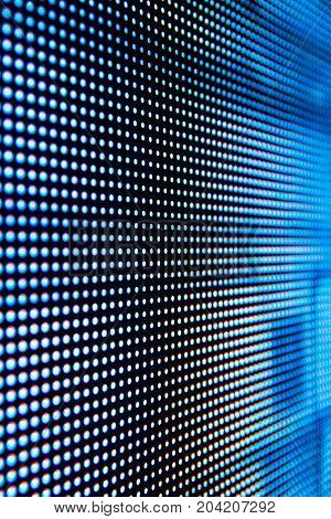 Bright colored LED smd screen - close up abstract background