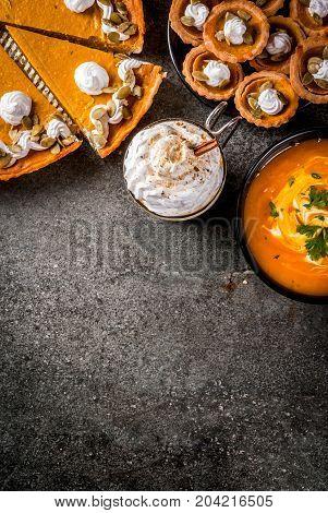 Set Of Pumpkin Dishes