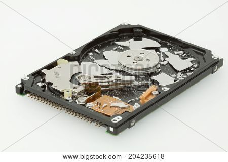 Broken Hdd, Hard Drive Disk