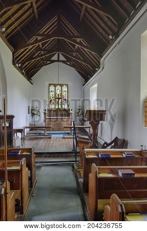 Nave Of St Andrew's Church, Withypool