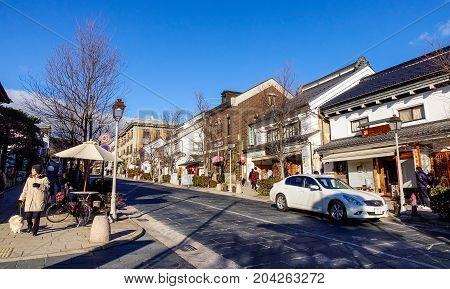 Old Town In Nagano, Japan