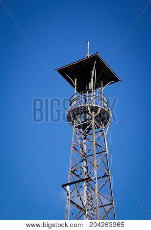 Watch Tower Under Blue Sky