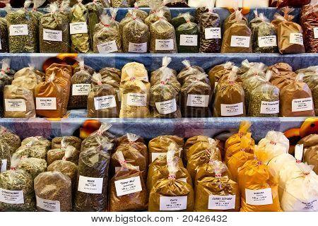 Set Of Herbs