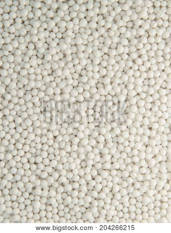 Background Of Plastic Pellets
