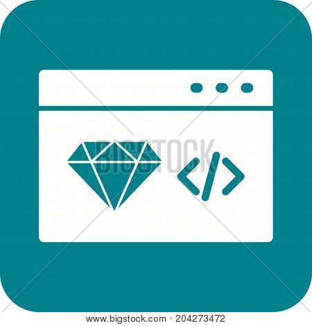Clean, optimization, code icon vector image. Can also be used for IT Services. Suitable for use on web apps, mobile apps and print media.