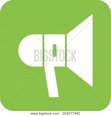 Speaker, sound, music icon vector image. Can also be used for news and media. Suitable for use on web apps, mobile apps and print media.