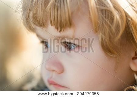 Child With Brown Eyes