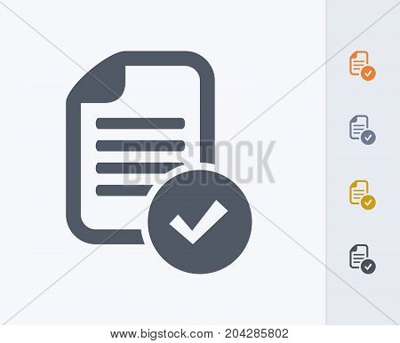 Document Proofing - Carbon Icons. A professional, pixel-perfect icon designed on a 32x32 pixel grid and redesigned on a 16x16 pixel grid for very small sizes