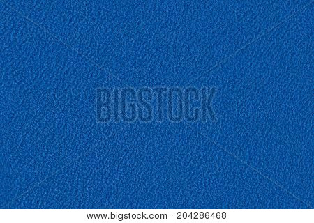 A blue velour fabric texture  - Close up