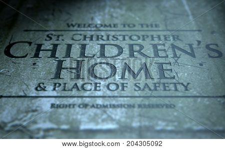 Orphanage Signage
