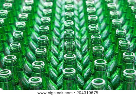 Lots Of Glass Bottles